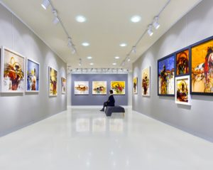 Buy fine art with IDON