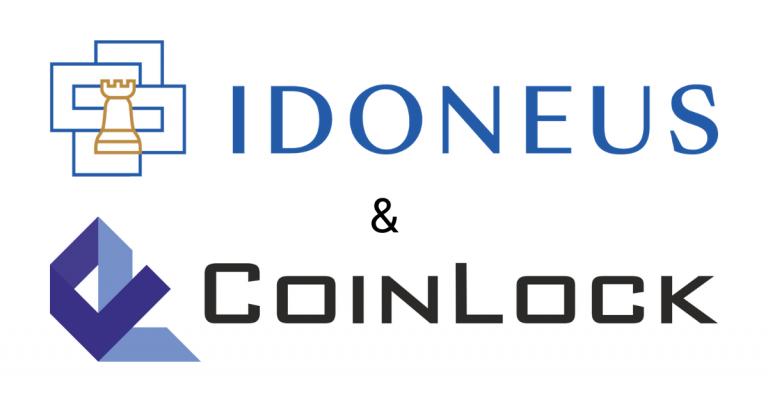 Idoneus - Coinlock Partnership