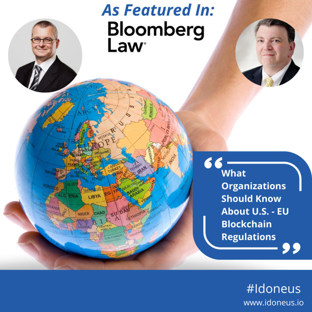 Idoneus featured in Bloomberg Law 02 23 2021