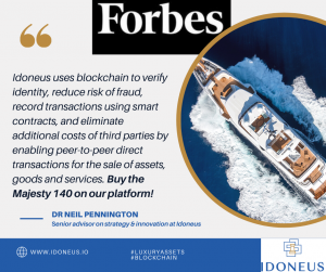 Idoneus featured in Forbes - 03 29 2021
