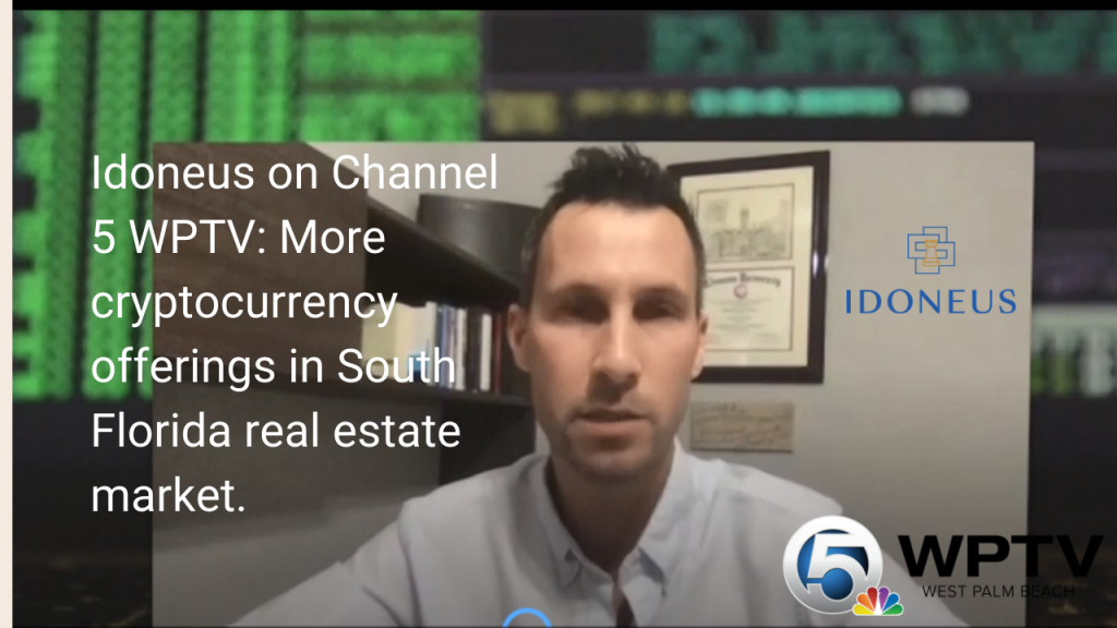 More cryptocurrency offerings in South Florida real estate market, Aired on WPTV NewsChannel 5